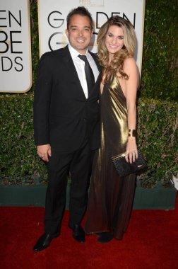 actress Rachel McCord with husband