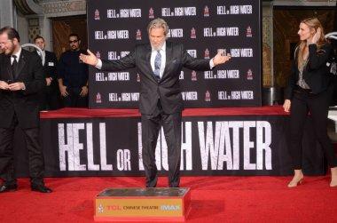 actor Jeff Bridges with guests