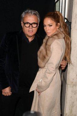 designer Giuseppe Zanotti and Jennifer Lopez