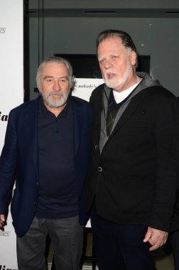 Robert De Niro and Taylor Hackford