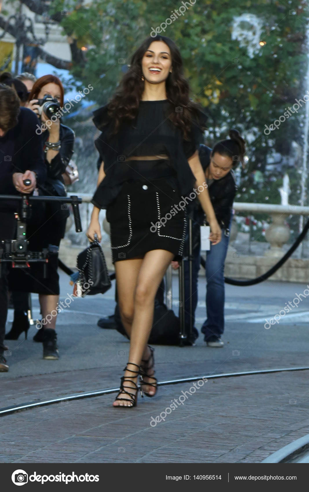 5f4112bad7aa64 American actress Victoria Justice – Stock Editorial Photo © s bukley ...
