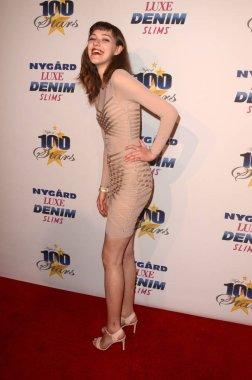 Nina at the 27th Annual Night of 100 Stars