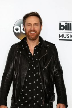 David Guetta at the 2017 Billboard Awards Press Room