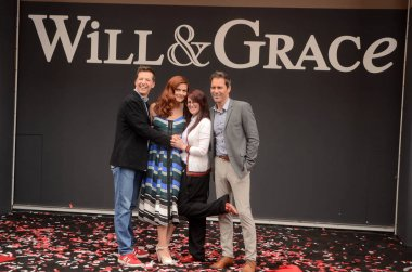 Sean Hayes, Debra Messing, Megan Mullally, Eric McCormack