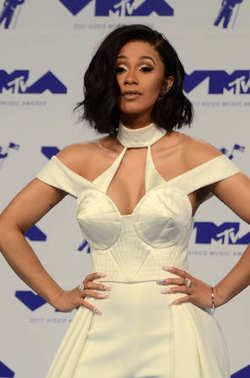 Cardi B at the 2017 MTV Video Music Awards
