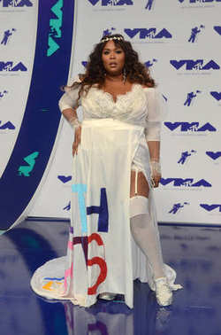 Lizzo at the 2017 MTV Video Music Awards