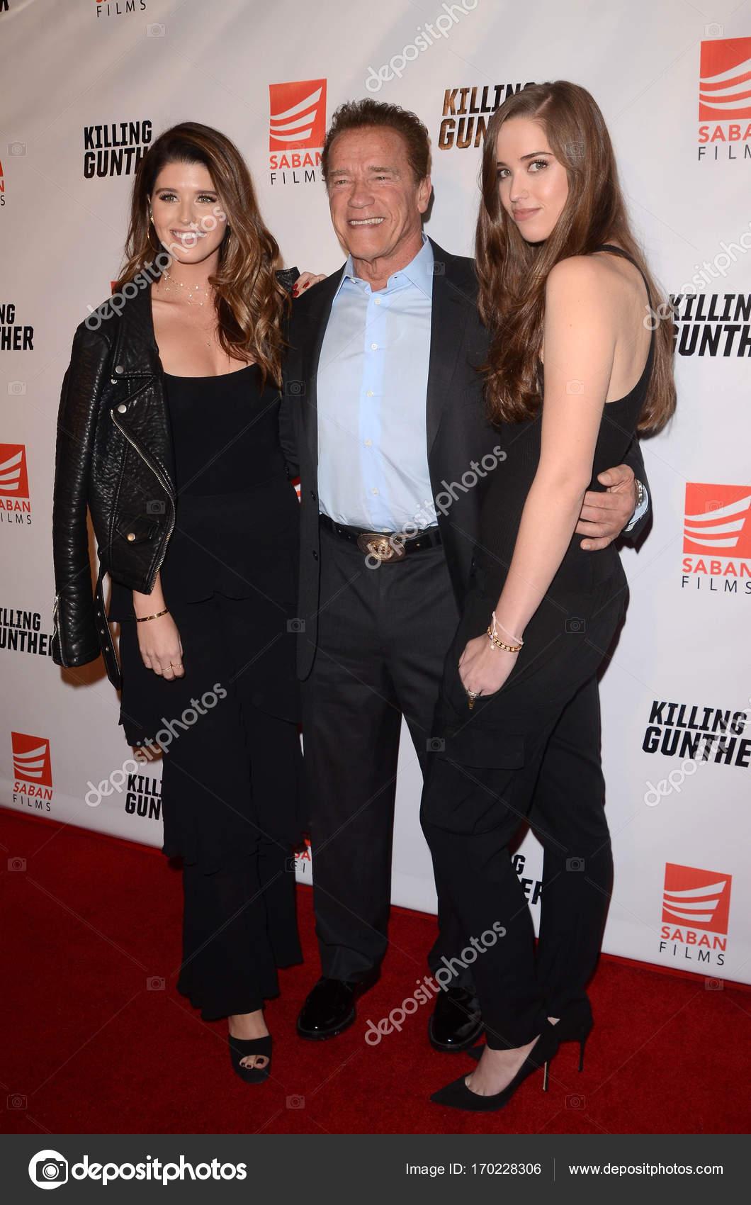 Katherine Schwarzenegger, Arnold Schwarzenegger, Christina