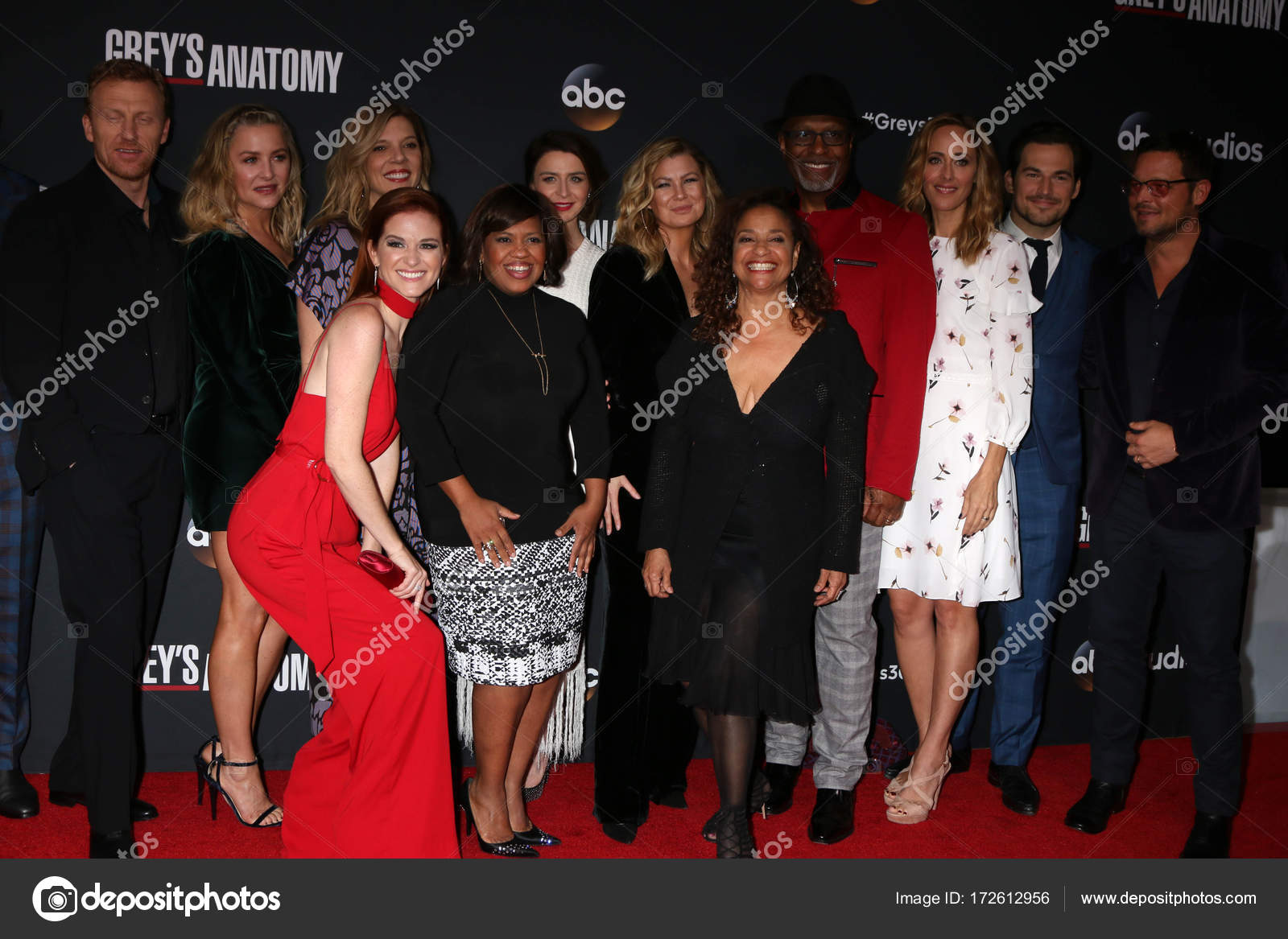 Greys Anatomy Cast Stock Editorial Photo Sbukley 172612956