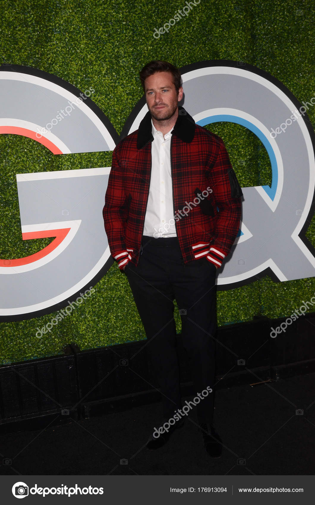 Actor Armie Hammer Men Year 2017 Party Chateau Marmont Los Stock Editorial Photo C S Bukley 176913094