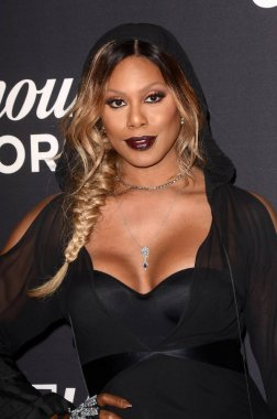 Laverne Cox at Lip Sync Battle LIVE: A Michael Jackson Celebration, Dolby Theater, Hollywood, CA 01-18-18