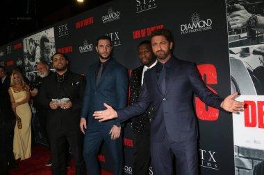 OShea Jackson Jr, Pablo Schreiber, 50 Cent, Gerard Butler