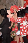 Katy Perry, Mickey Mouse, Minnie Mouse
