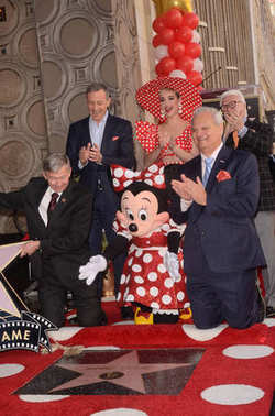 Bob Iger, Minnie Mouse, Katy Perry