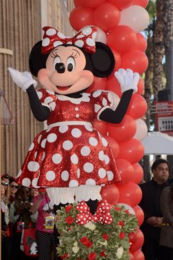 Minnie Mouse at the Minnie Mouse Star on the Hollywood Walk of Fame ceremony