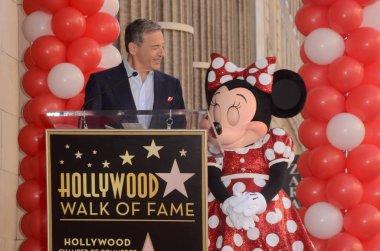 Bob Iger, Minnie Mouse