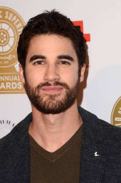 Darren Criss at the Guild of Music Supervisors Awards, Theater at the Ace Hotel, Los Angeles, CA 02-08-18