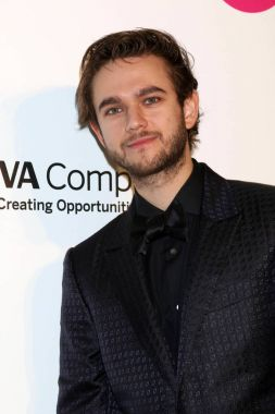 Zedd at the 2018 Elton John AIDS Foundation Oscar Viewing Party
