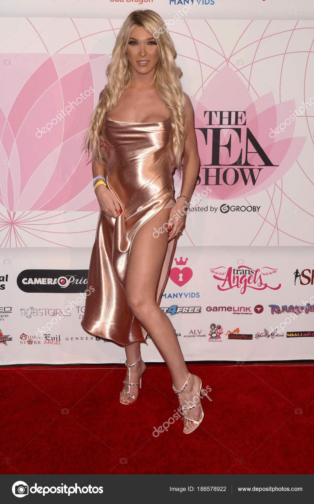 Actress Aubrey Kate Stock Editorial Photography