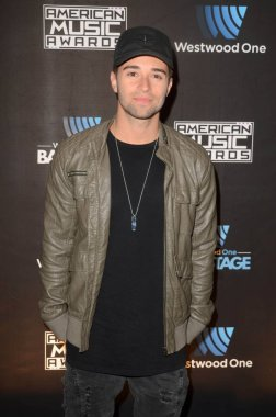 Jake Miller at Westwood One Backstage at the American Music Awards, L.A. Live Event Deck, Los Angeles, CA 11-18-16