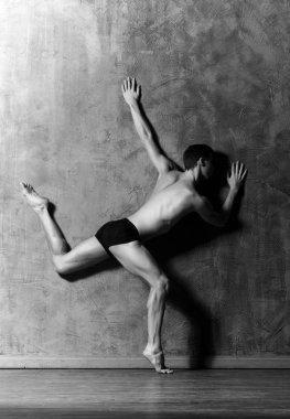 Ballet dancer in art performance