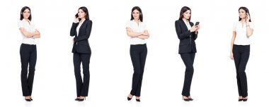 successful and beautiful businesswoman