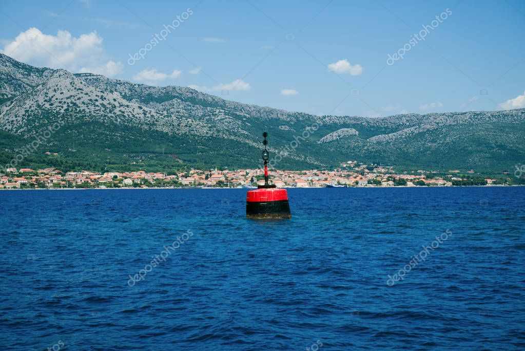 Beautiful seascape of Croatia. Traveling, yachting, vacation
