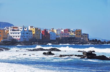 Puerto de la Cruz coast, Tenerife, Canary islands, Spain