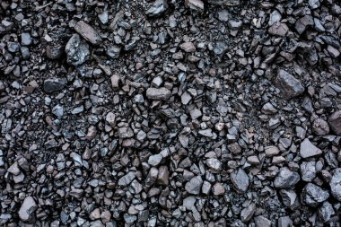 Black coal texture