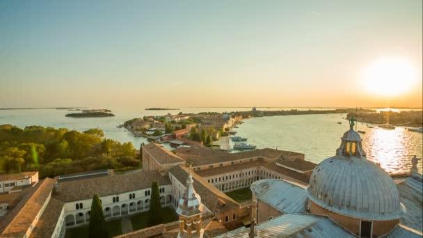Veduta di Venezia al tramonto