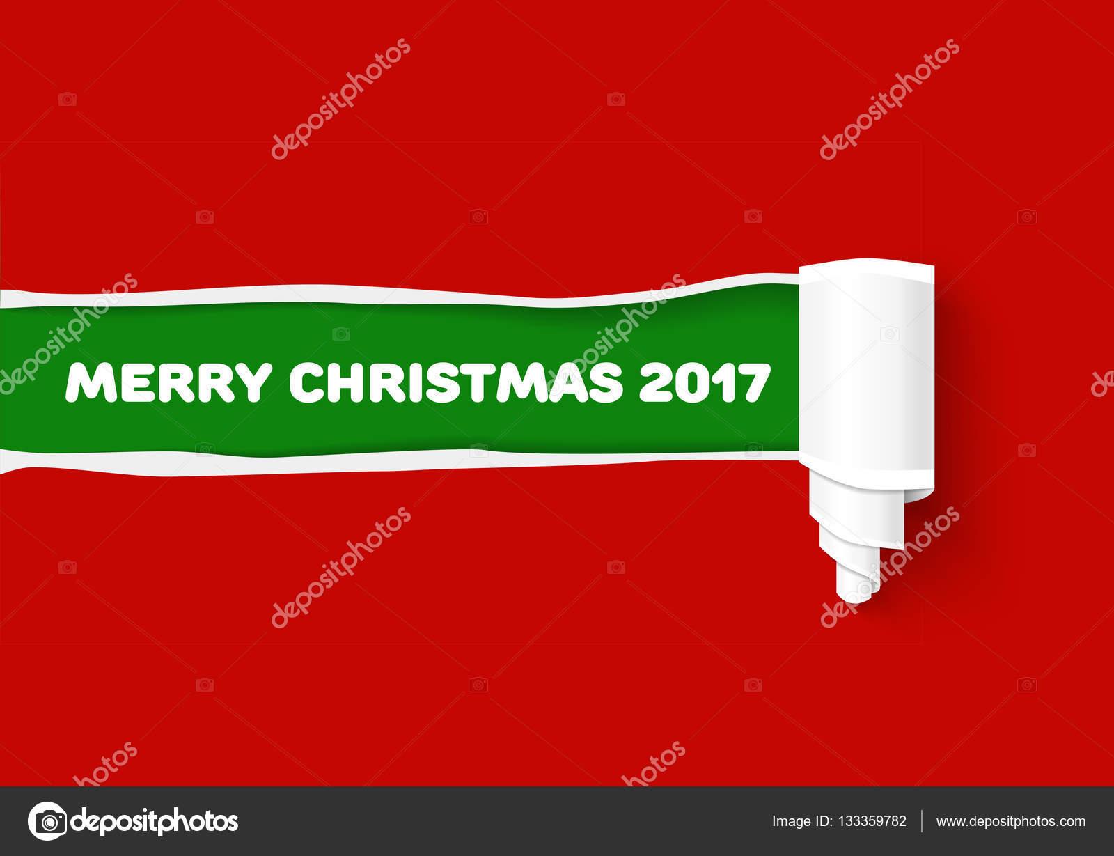 Frohe Weihnachten-Farben-Darstellung. Neue Jahr grüne Vektor ...