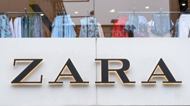 TOKYO, JAPAN - CIRCA MARCH, 2017: Zara store. Zara is a Spanish clothing and accessories retailer based in Arteixo, Galicia, and founded in 1975 by Amancio Ortega and Rosalia Mera.
