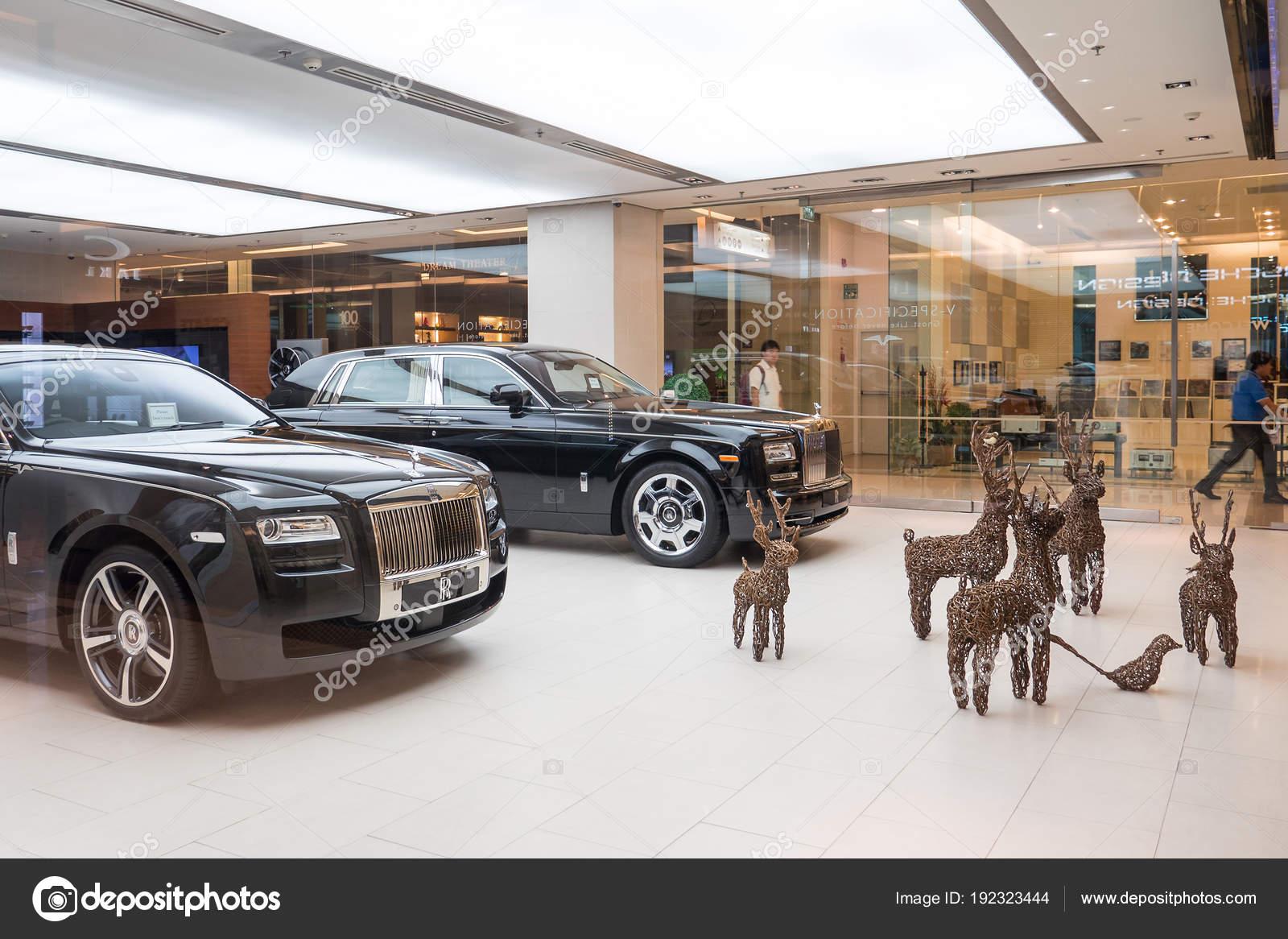 Bangkok Thailand November 2015 Rolls Royce Sowroom Rolls Royce