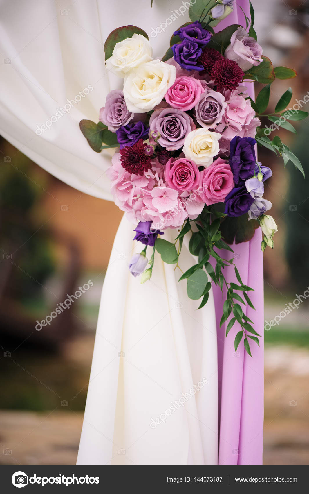 Arch element with flowers for wedding decorations stock photo arch element with flowers for wedding decorations stock photo junglespirit Gallery