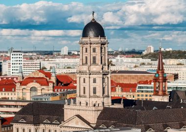 Historic Berlin Cathedral, day foto.