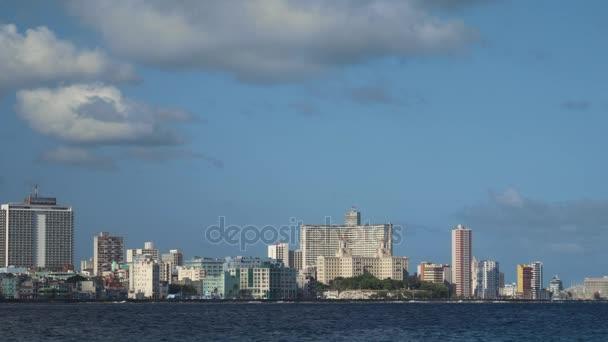 Panorama La Habana Kuby Havana s Karibským mořem