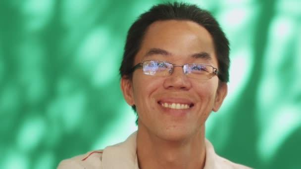 21 Happy Chinese Latino Young Man Asian Hispanic People Smiling