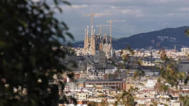Kostel Sagrada Familia Gaudi Barcelona Španělsko