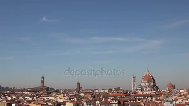 Městské pohled na Florencii Itálie Firenze italské město v oblasti Toskánsko