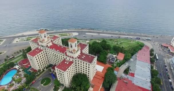 7 Hotel Nacional Cuban Malecon Promenade Caribbean Sea Havana Cuba