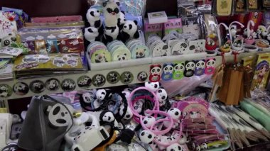 Shop Selling Panda Toys Gifts Souvenirs Presents In Chengdu China