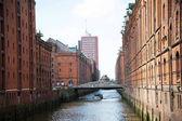 Fotografie Hafengebiet in Hamburg