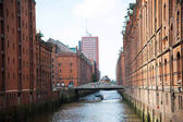 Hafengebiet in Hamburg