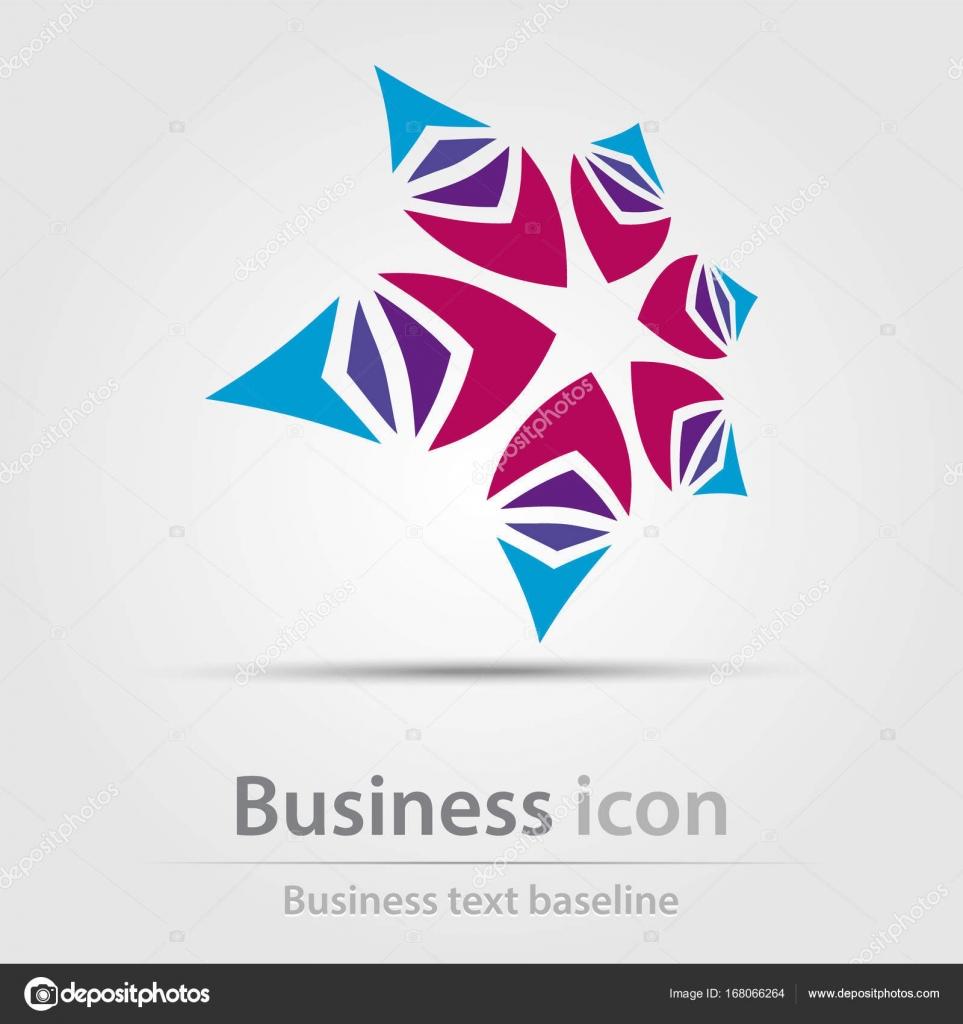 ursprungligen skapades business ikonen stock vektor