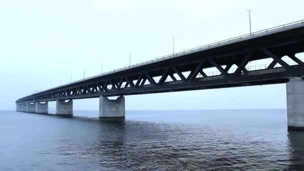 Most most Oresund Bridge moře, Švédsko a Dánsko