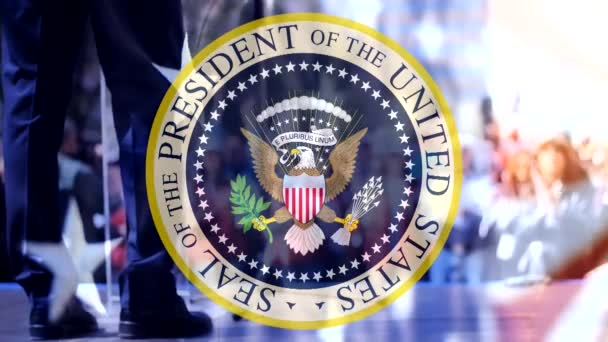 Seal of the President of USA,campaign election