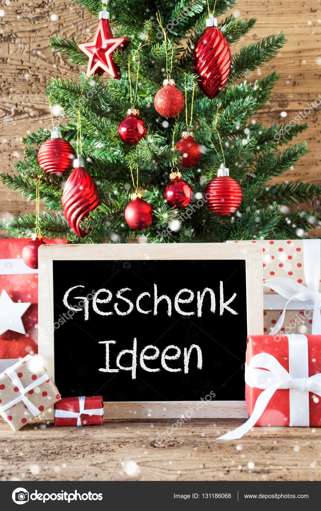 Bunte Weihnachtsbaum, Schneeflocken, meistverkauftes Ideen bedeutet ...