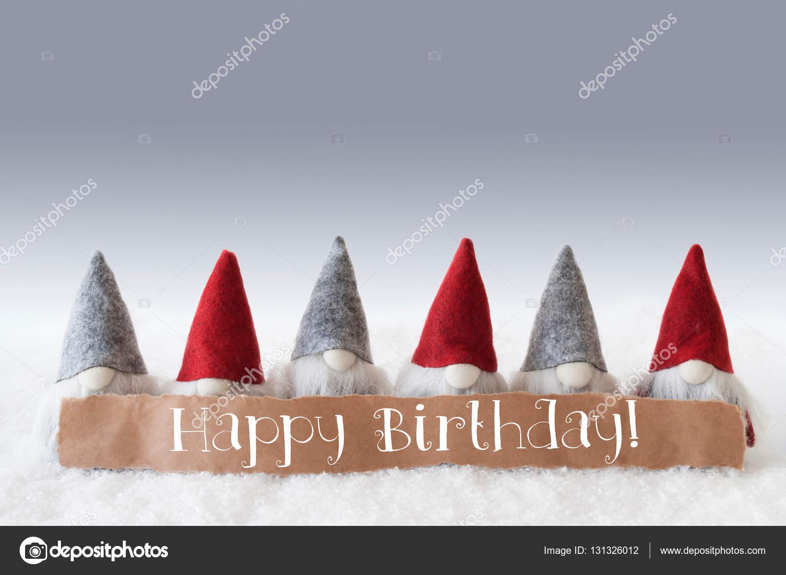 Geburtstag zwerge