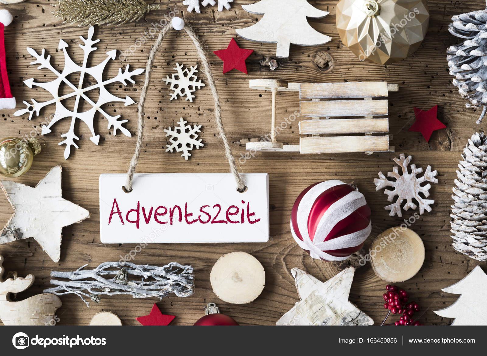 Feestdagen Natuurlijke Kerstdecoratie : Rustieke kerst platte lay adventszeit middel adventstijd