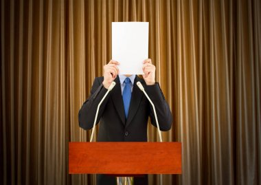 frightened to public speaking