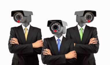 surveillance system at the corporate